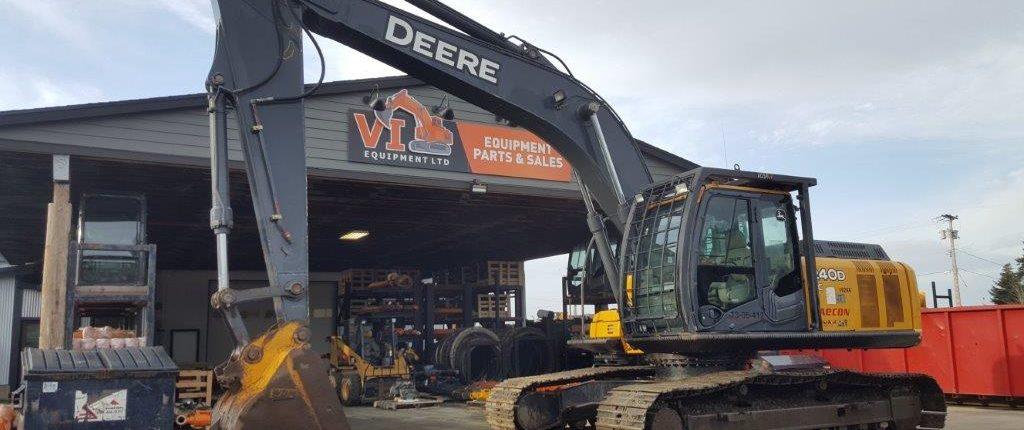 Used John Deere Parts >> John Deere 240d Lc Excavator Parts Used Excavator Parts